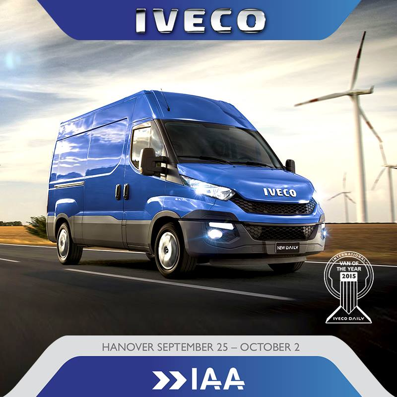 VAN OF THE YEAR 2015 AWARD. IVECO DAILY